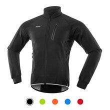 Cycling Jacket Jersey Arsuxeo Winter Windproof Waterproof Road-Bike-Clothing Thermal-Fleece