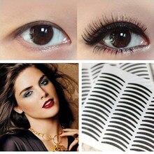 72 pares grandes olhos compõem a pálpebra adesivo dupla fita da pálpebra adesivos transferência fita sombra olho eyeliner adesivo beleza maquiagem ferramenta