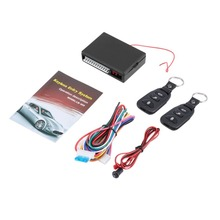цена на Car Auto Remote Central Kit Door Lock Vehicle Keyless Entry System Locking With Remote Controller Car Accessories
