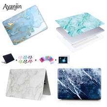 Marble Pattern Case For Apple Macbook Air Pro Retina 11 12 13 15 15.4 inch Laptop bag For 2018 New Mac book Air Pro 13.3 A1932