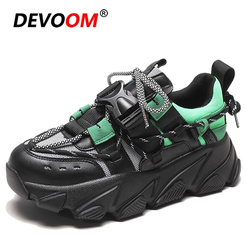Running Shoes Women Breathable Mesh Sport Shoes Woman Platform Walking Shoes Jogging Basket Femme 2019 Sneakers Women Triple S