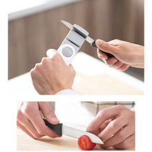 Mini Portable Dual-Purpose Knife Sharpener Type Whetstone Sharpening Knives Stone Kitchen Accessories D006