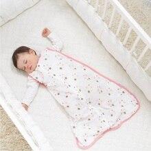 Муслиновый хлопковый детский тонкий спальный мешок для сна мод для лета постельные принадлежности детские Saco De Dormir Para Bebe мешки для сна