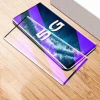 3D la cobertura completa Anti azul de vidrio para VIVO X50 Pro Plus Protector de pantalla de vidrio templado para VIVO Nex 3S 3S 5G X50Pro X50 Pro +