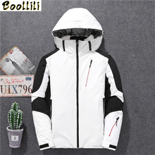 2020 Fashion Clothes Men Down Coats Print Patchwork Loose Thick Wnter Down Jackets Men Stand Collar Zip Puffer Jacket Men cheap REGULAR 8019 Casual zipper Full Pockets Epaulet Zippers Spliced PATTERN Thick (Winter) Broadcloth Polyester Acetate White duck down