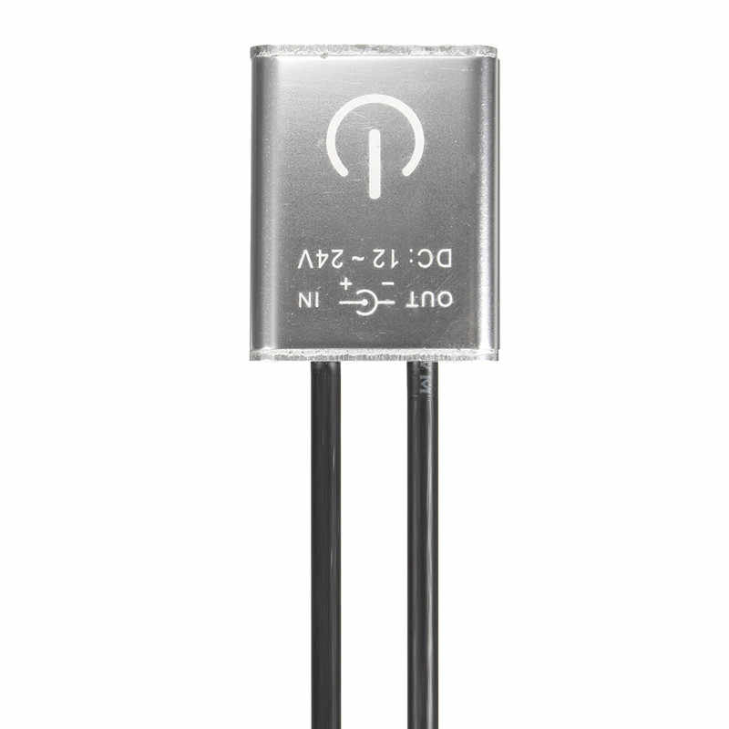 DC12V/24 V Mini LED Touch Dimmer Für Einzelne Farbe LED Streifen Licht Lampe 36 W/12 v, 72 W/24 V