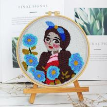 DIY Girl/ Animal Embroidery Cross Stitch Kit Painting Embroi