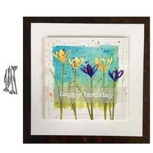 JC Beautiful Flower Metal Cutting Dies for Scrapbooking Craft Mold Cut Die Stencil Handmade Tool Paper Card Make Template Decor