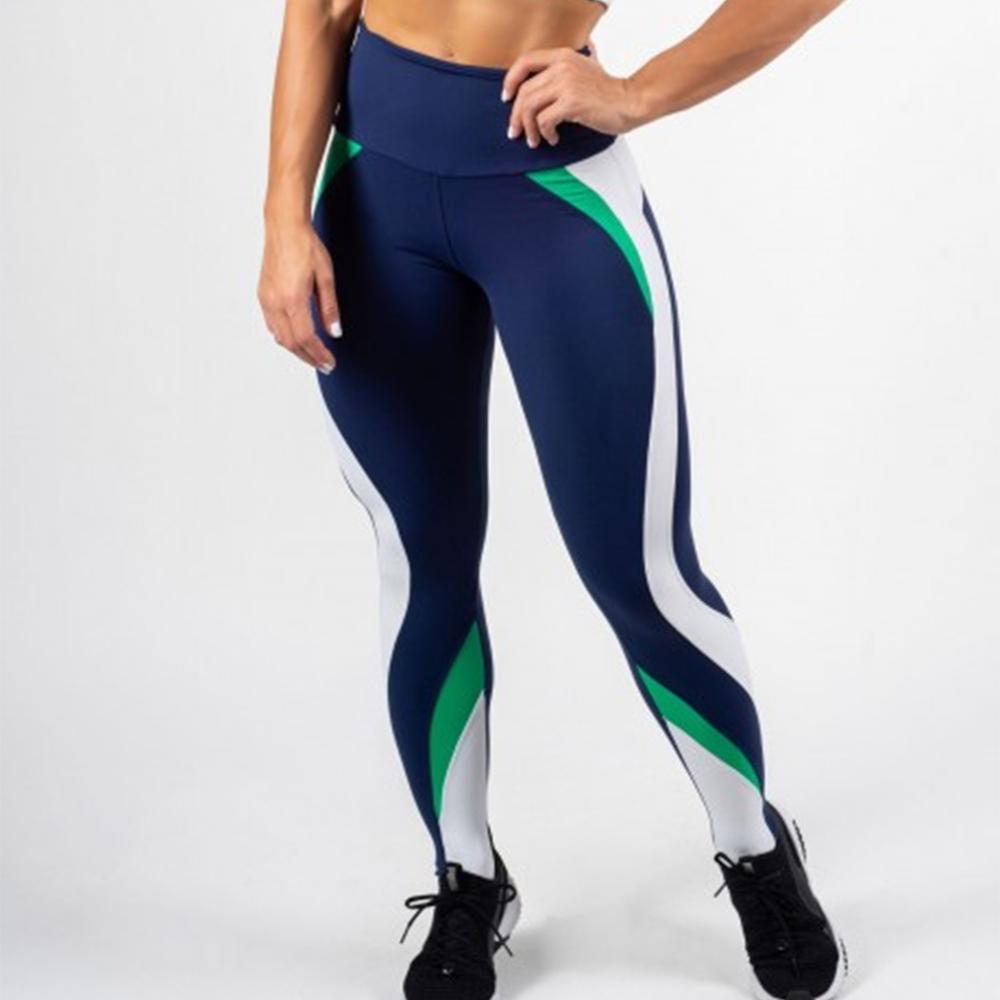 Fashion Sporting Breathable Fitness Leggings Women High Waist Sportswear Workout Legging Push Up Women Elastic Force Legging