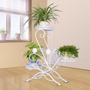 Image 5 - Декоративная наружная подставка для выравнивания растений, украшение для балкона, балкона, цветов, балкона