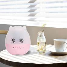 Remote Control Night Light 5W LED Pink Pig Rotating Ocean Starry Sky Projector Nursery Bedroom Kids Night Lights(China)
