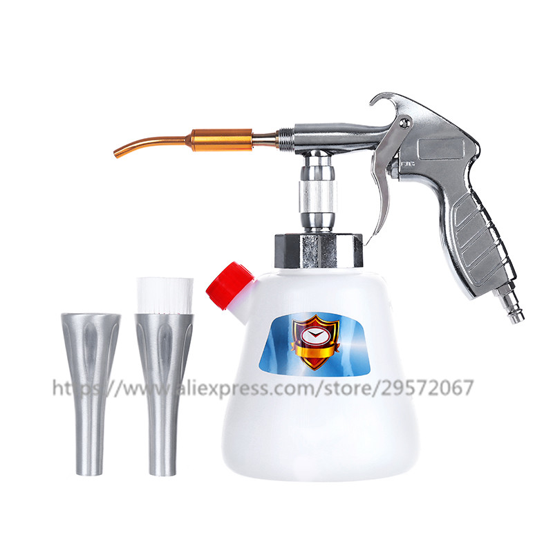 Image 4 - Z 010 Z 020 Steel Tornador Interior Deep Cleaning Gun For Cockpit Care Cars Air Opearted Car Wash Steel Equipment Tornado Gun-in Spray Guns from Tools on