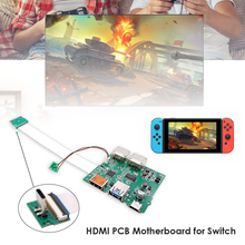Replacement HDMI compatible PCB Motherboard with USB C Ribbon Cable for Nintendo Switch Dock Electronic Machine Accessories