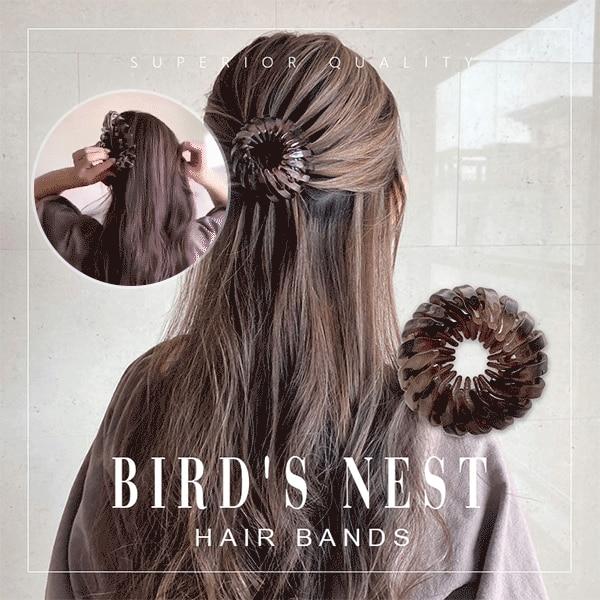 Bird's Nest Hair Bands 1
