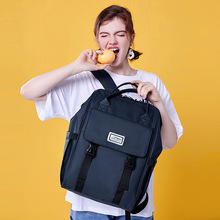 Fashion New Women's Casual Backpack Handbag Female Version Backpack Simple Student Schoolbag Large Capacity Computer Large Bag basic computer skills made simple xp version
