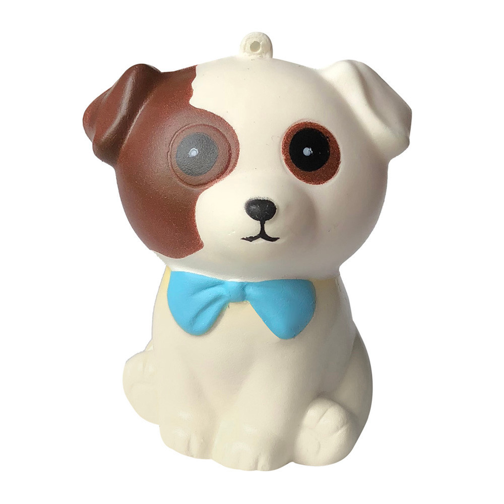 Adorable Puppy Slow Rising Squeeze Toys Stress Relief Novelty Fun Toys For Children Cartoon Doll Accessories Holiday Gift #A