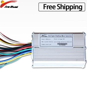 Controlador LCD/LED para Bicicleta eléctrica, sin escobillas, 36V, 48V, 500W/1000W