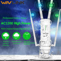 Wavlink High Power AC1200 Outdoor Wireless wifi Repeater AP/WIFI Router 1200Mbps Dual Dand 2,4G + 5 ghz Long Range Extender PoE