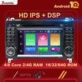 DSP 4 ГБ 2 Din Android 10 автомобильный радиоприемник GPS стерео для Mercedes Sprinter W906Benz B200 A B класс W169 W245 Viano Vito W639 Multimeida