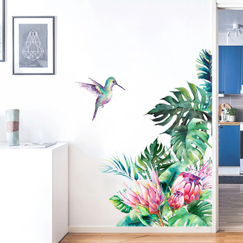 keep calm and dream on quote wall stickers vinyl home decor living room bedroom door decals removable art mural wallpaper 3b05 Tropical leaves flowers bird wall stickers bedroom living room decoration mural home decor decals removable stickers wallpaper