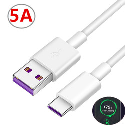 Original For Samsung A51 A50 Type C Cable 25W 5A Super Fast Charging Charger USB Cable For Samsung S20 Ultra S9 S8 S20+ A71 A91