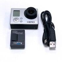100%Original For GoPro HERO3 Hero 3 White Edition Adventure Camera+Battery+ charging data cable