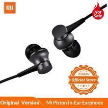 מקורי שיאו mi Mi בוכנה ב אוזן אוזניות הנוער גרסה 3.5mm צבעוני אוזניות עם mi c 1.4m מוסיקה סטריאו עבור Smartphone