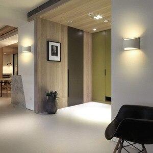 Image 3 - Wandkandelaars Verlichtingsarmaturen Lampen Moderne Led Verlichting 7W Up En Down Indoor Gips Voor Woonkamer Slaapkamer Hal