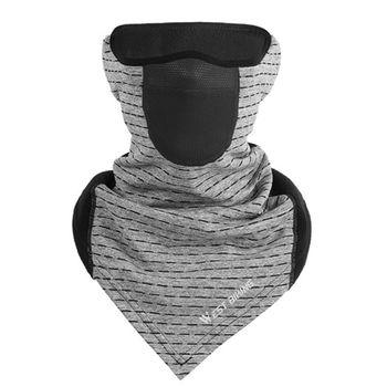 暖かい冬サイクリング防風フェイスマスクフリースランニングスポーツスキーマスクネック