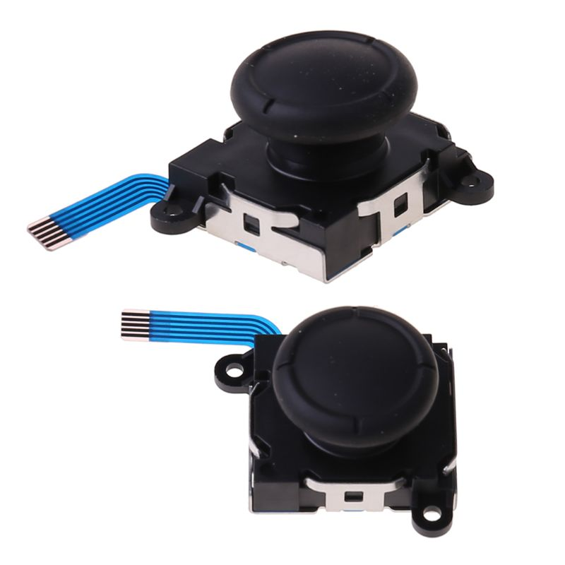 1Pc 3D Analog Sensor Stick Joystick Replacement for Nintend Switch Joycon Controller Handle Gaming Accessories consoles