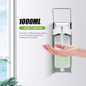 Image 3 - Liquid Soap Dispenser Elbow Press Disinfectant Dispenser Wall Mounted Soap Pumps Soap Dispenser For Home School Hotel Hospital