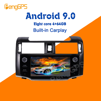 Android 9.0 4+64GB Car Multimedia player For Toyota 4Runner 2009-2019 Stereo Radio GPS Navigation Head unit Screen carplay