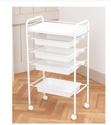 Simple And Semi-permanent Trolley Multi-layer Beauty Salon And Nail Universal Tool Trolley