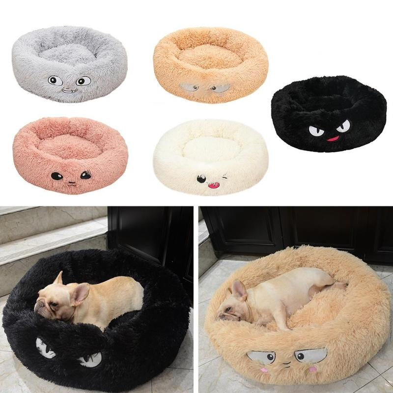 Lamb Velvet Plush Dog Cat Beds Soft Plush font b Pet b font Sofa Waterproof Bottom