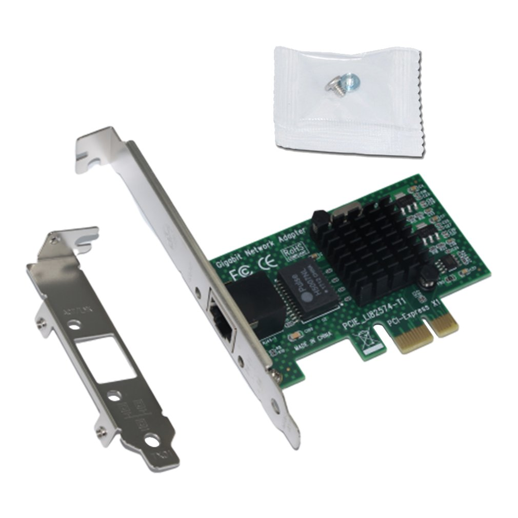 Desktop Computer Pci-E Gigabit Lan Card Intel82574L/9301Ct Server 1000M Network Card Esxi No Lightning Protection