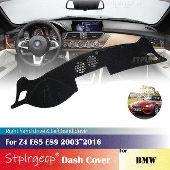 Pour BMW Z4 E85 E89 2003 ~ 2016 anti-dérapant tableau de bord couverture protection Pad voiture accessoires parasol tapis 2015 2014 2013 2012 2011