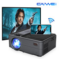 CAIWEI мини портативный Wifi проектор беспроводной HD USB поддержка 1080P Airplay Miracast для iOS Android телефон планшет ТВ DVD ноутбук
