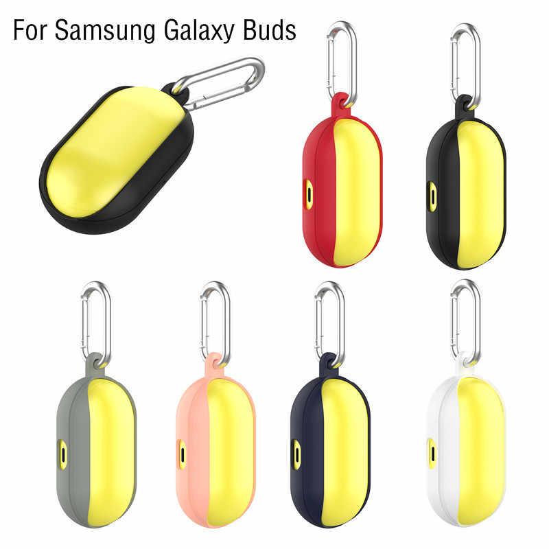 Funda de silicona para auriculares, funda protectora para Samsung Galaxy Buds 2019, funda protectora para auriculares