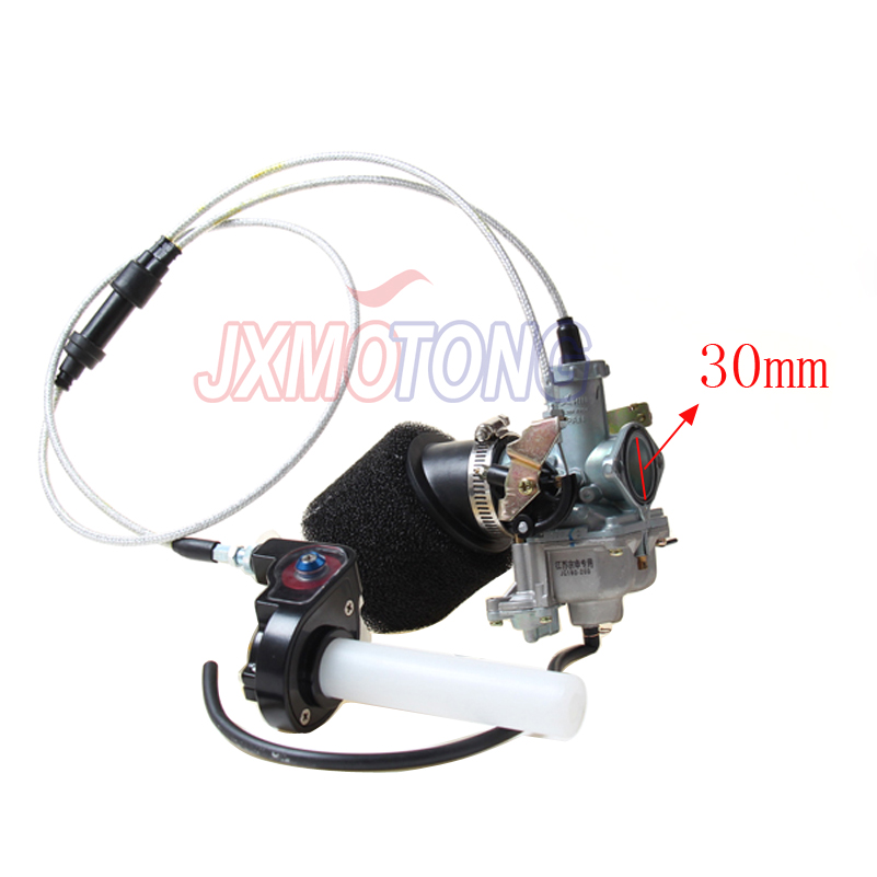 Power Jet Accelerating Pump for KEIHIN 30mm PZ30 Carburetor + Visiable Twister+ Dual Cable IRBIS +Air Filter image