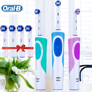 Image 5 - Oral B Electric Toothbrush 2D Clean Rotating Toothbrush Rechargeable Toothbrush Teeth Dual Clean Brush Heads
