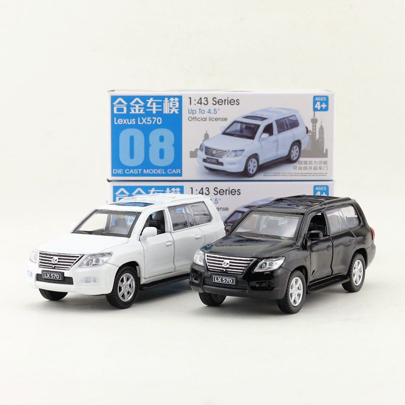 Caipo 1:46 Scale Lexus LX570 Alloy Pull-back Car Diecast Metal Model Car For Collection & Gift & Decoration