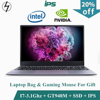 LHMZNIY Gaming laptop 15.6inch Metal Body Intel i7 6500U 16GB RAM 2G Dedicated Video Card Windows 10 Notebook Game Office Work