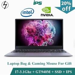Lhmzniy Gaming Laptop 15.6 Inch Metalen Body Intel I7 6500U 16 Gb Ram 2G Dedicated Video Card Windows 10 notebook Spel Kantoor Werk