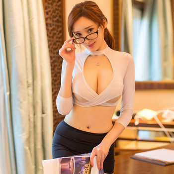Sexy See through ladies suit Porn Pleated Skirt Cosplay Youth Student Sexy Lingerie Costumes Women Sex Products Erotic Role play 1