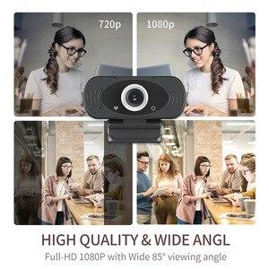 1080P камера IMILAB 2MP С микрофоном, usb веб камера HD играть и подключите настольных Smart Tv для потокового видео вызов конференции Камеры видеонаблюдения      АлиЭкспресс