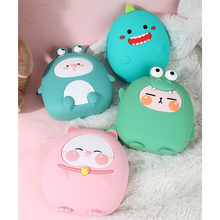 3D Cartoon Frog Kids School Bag Kawaii Soft Silicone Cute Kindergarten Backpack Toddler Baby Kawaii Bag Children Gift(China)
