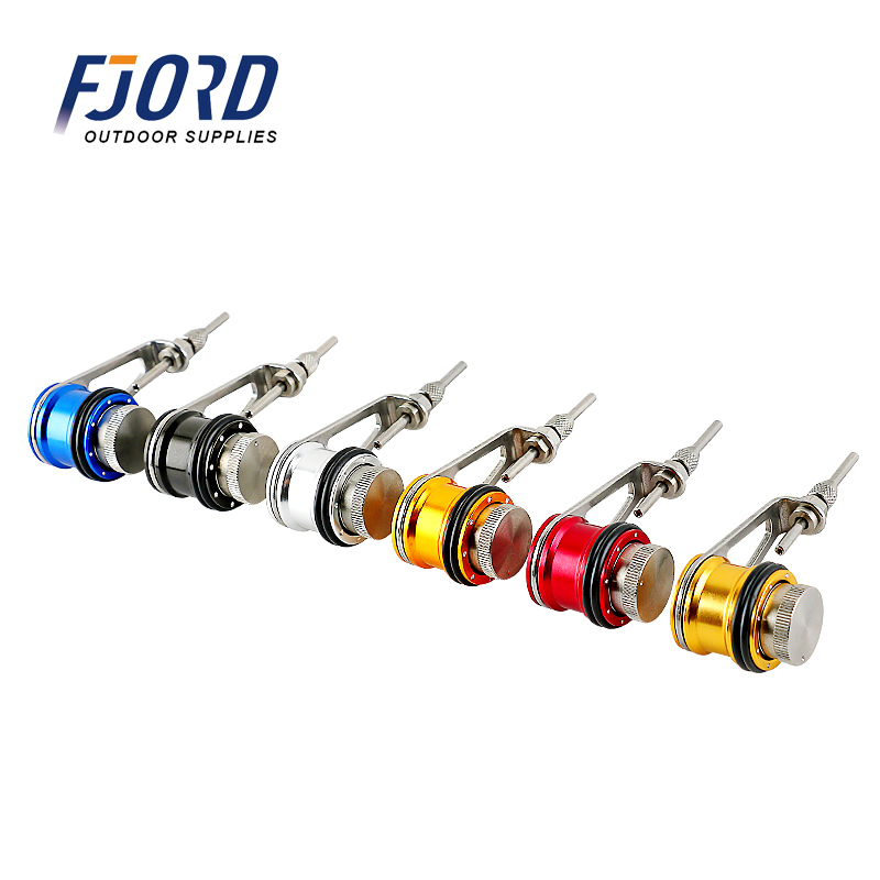 FJORD New Design Fishing Line Winder Fishing Tackle Accessories Multi-purpose Stainless Steel PE Line Baler Bobbin Knotter