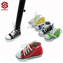 Amazing Motorcycle Side Stand Pad Plate Kickstand Support Mini Shoes Key Chain Keychain for Motorbike Bicycle ATV