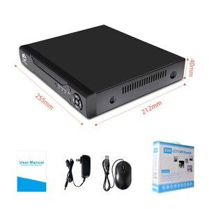 Image 5 - JOOAN 4CH 8CH 16CH טלוויזיה במעגל סגור DVR אבטחת מערכת 1080N H.264 HD פלט P2P היברידי 5 ב 1 Onvif IP מצלמה TVI CVI AHD וידאו מקליט