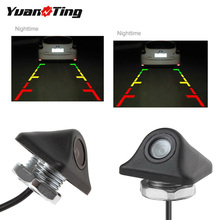 YuanTing 170 градусов широкоугольная CCD HD Автомобильная передняя сторона заднего вида резервная парковочная камера заднего вида/вперед Водонепроницаемая Универсальная